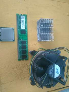 Pentium dual core very old with cpu and 512mb ram