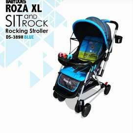 Stroller Does Roza XL Rocking Stroler Kereta Dorong Ayun Anak Bayi
