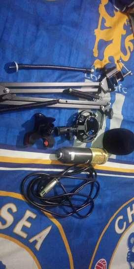 Mic bm 800 fullset stand mic