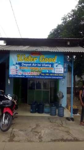 Di jual sebidang usaha langsung jalan depot air isi ulang area Depok