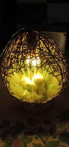Birds light lamps