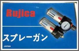 Air Control Unit Filter Angin Kompresor Compressor RUJICA DOUBLE baru