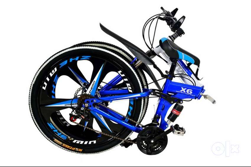 NEW BMW X6 21 GEARS FOLDABLE BICYCLES IN ALL COLOURS 0