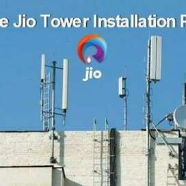 Jio 4G Networking Towers