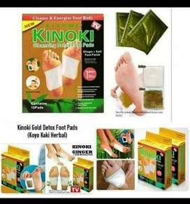 Kinoki/koyo terapi 1 box isi 10 (penghisap toksin tubuh)
