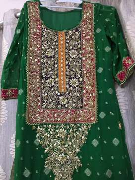 Mehndi dress for sale!