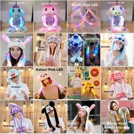 Topi Kelinci lucu Rabbit Hat Magic Rabbit Bunny Ear Hat Tik tok - Keli