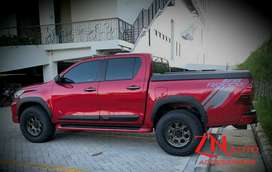 Over fender hilux rocco 2021 over fender hilux revo 2016