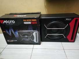 "Bassbox Micro MC 1280 12"" Subwoofer Aktif"