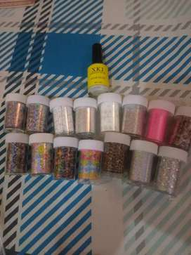 Nails Sticker foil Available.
