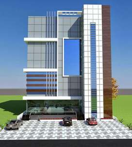 Commercial building 5 cent 2000 Sq ft for sale Palakkad, Kerala