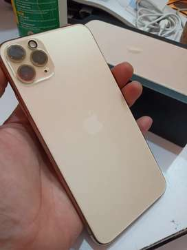 Iphone 11 promax 256 gold MYA