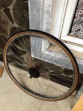 Wheelset Araya Road Bike Jadul 27 x 1/4