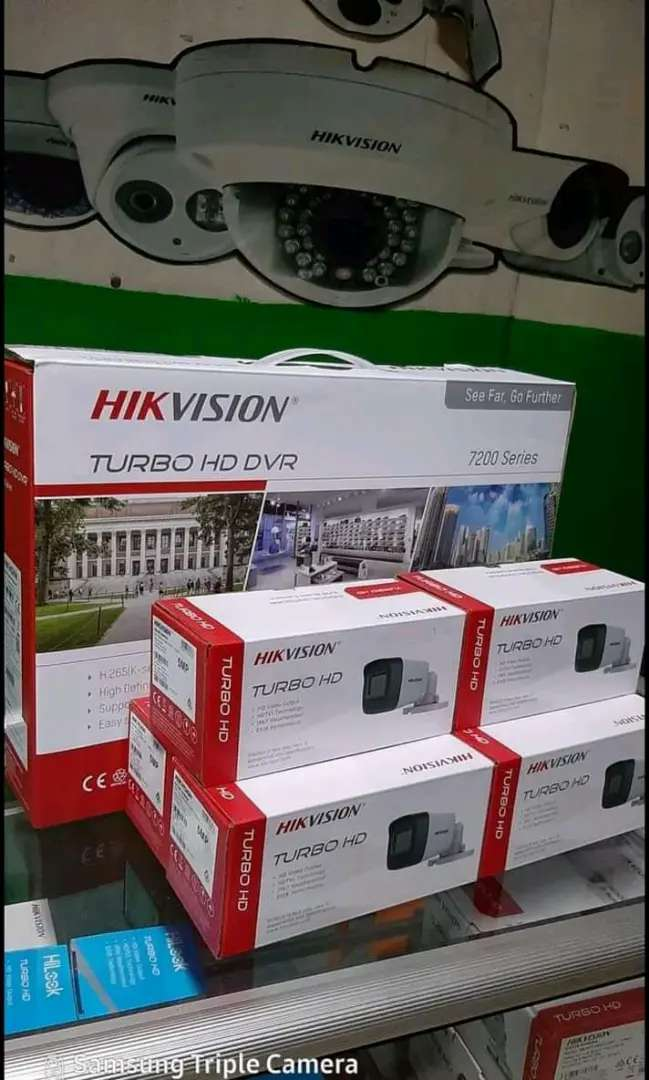 Hikvision Colorvu Outdoor 2MP Kamera CCTV wilayah Cianjur