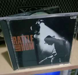 CD Original - U2 - Rattle and Hum