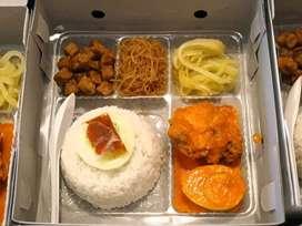 Open order nasi kotak murah& Catering nasional