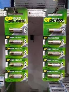 Baterai GP 12v A27 untuk remote mobil