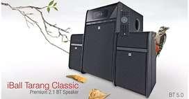 Iball home theater tarang classic 2.1 40w Bluetooth speaker