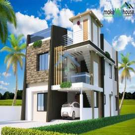 250 sq yd(10 Marla),8 Bed,8 Bath ,Triple Storey House in Sec-79 Mohali