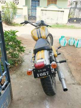 Modified royal enfield 350cc
