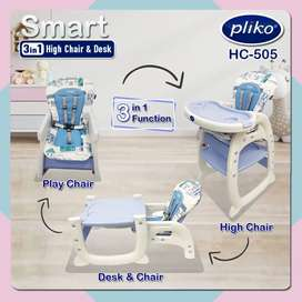 Kursi dan meja bayi 3 in 1 Ready 1.050.000