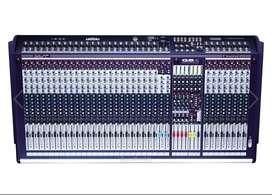 Soundcraft mixer 32 channel BG4