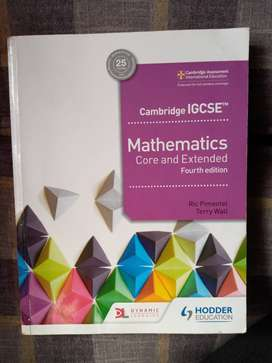 IGCSE Mathematics Book in Pakistan from Hodder Education