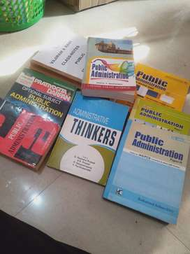 Public administration (PA) textbook and notes ,cheap price,yam hongna.