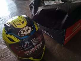 Helm kyt rc7 bekas