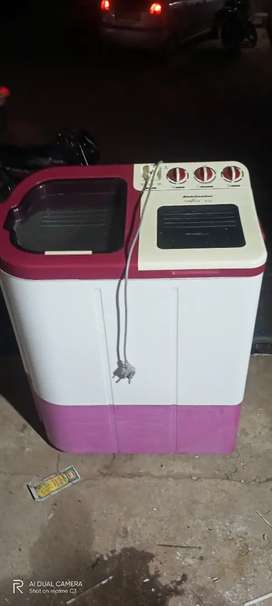For sell 5500rs kelveneter washing machine 2 month old 6.7kg