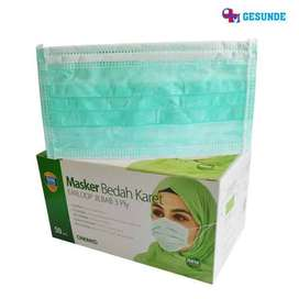 Masker Hijab - Masker Jilbab 3 Lapis Sekali Pakai Disposable
