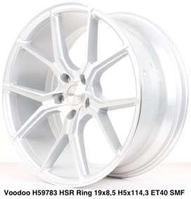 tokop velg murah model VOODOO 59783 HSR R19X85 H5X114,3 mobil alphard