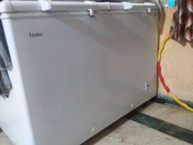 Haier dooble door deep freezer/cooler