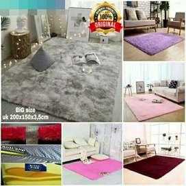 Karpet Bulu empuk dan Lembut uk 200x150x3.5cm [MURAH]