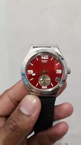 Jam tangan Swatch AG-2004 SR936SW Irony.