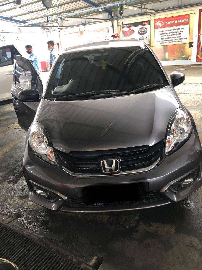 Honda Brio Satya E 1.2 CVT Terawat Tinggal Pakai 0