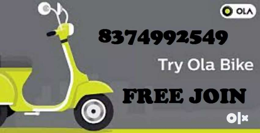 GET DAILY INCOME WITHOUT COMISSION FROM OLA BIKE/FREE ATTACHMENT