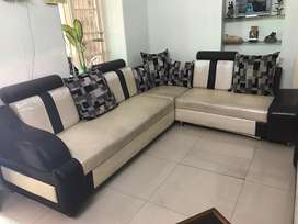 L Shape Sofa + 2sitter