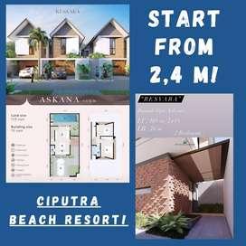 NEW! Rumah Murah di Tabanan, Bali! @Ciputra Beach Resort! LIMITED!