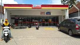 Dijual cepat, bangunan investasi alfamart