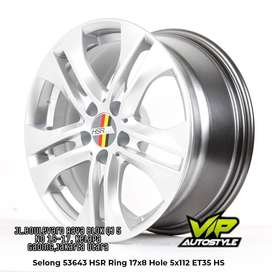 Pelek Mobil Model SELONG Ring 17 Pcd 5x112 Buat Mercy Mercedez Audi