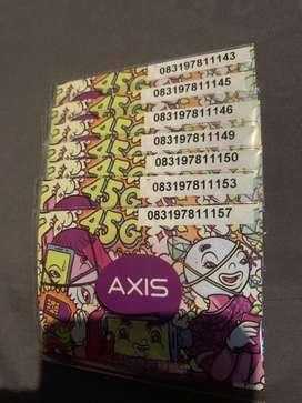 Nocan Nomor Nomer Cantik Axis 4.5G Cantik 15k