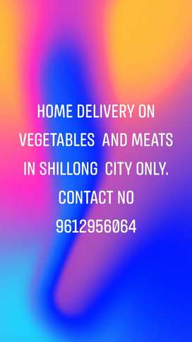 Home delivery services vegetables and meats