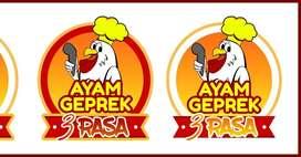 Dicari karyawan untuk ayam geprek ( Laki-laki)
