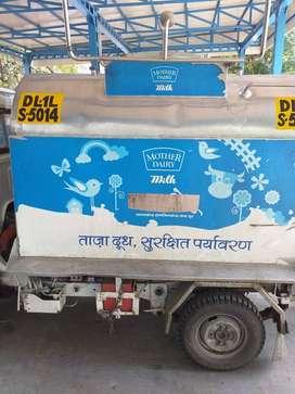 pick-up vans for milk supplies