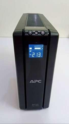 APC Back-UPS Pro BR1500G-IN, 1500VA / 865W UPS System / Inverter