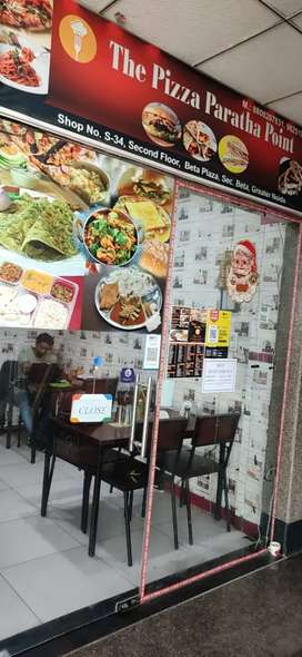 Restaurant for sale in Beta plaza Greater Noida.