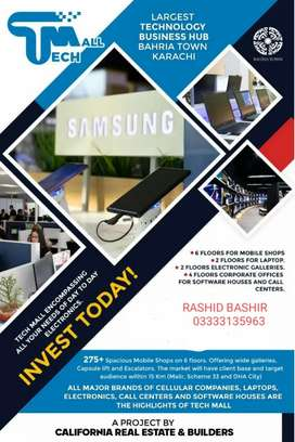 TECH MALL ( Mobile & Electronics shops) BAHRIA TOWN KARACHI