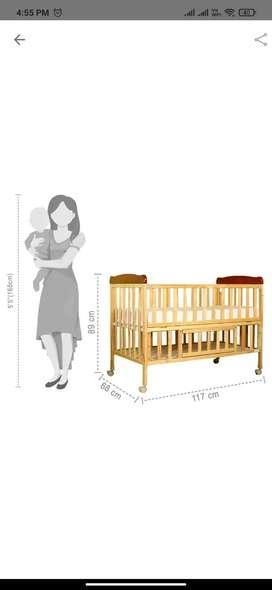 Baby wooden cot (Me Me)
