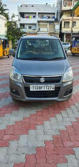 Maruti Suzuki Wagon R VXI BS IV, 2017, Petrol